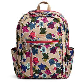 Vera Bradley Lighten Up Grand Backpack in Falling Flowers Neutral, , large