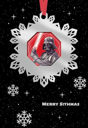 Star Wars™ A Day to Remember Christmas Card With Ornament