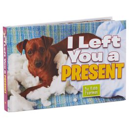 I Left You a Present Gift Book, , large