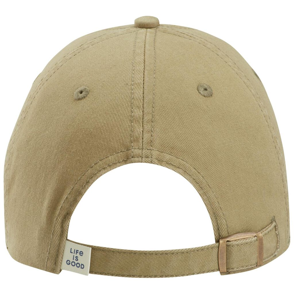 Life is Good Men s Ballyard Star Khaki Baseball Cap - Scarves 09aabde38e3