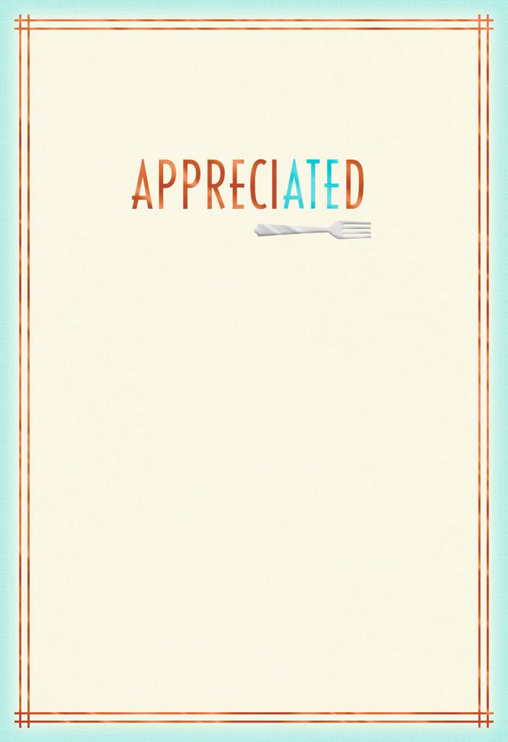 loved the food and company thank you card greeting cards hallmark