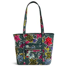 Vera Bradley Iconic Small Tote Bag in Falling Flowers, , large