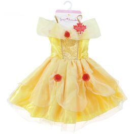 Princess Belle Child's Yellow Tea Party Dress, Medium, , large
