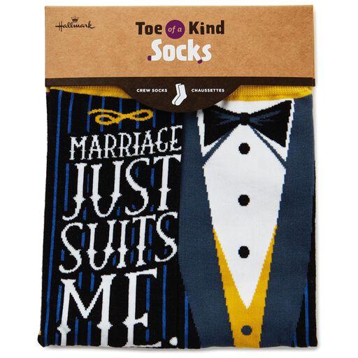 a1ffafcfe83b ... For the Groom Toe of a Kind Socks