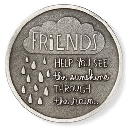 Friends Through Rain and Shine Collectible Token, , large
