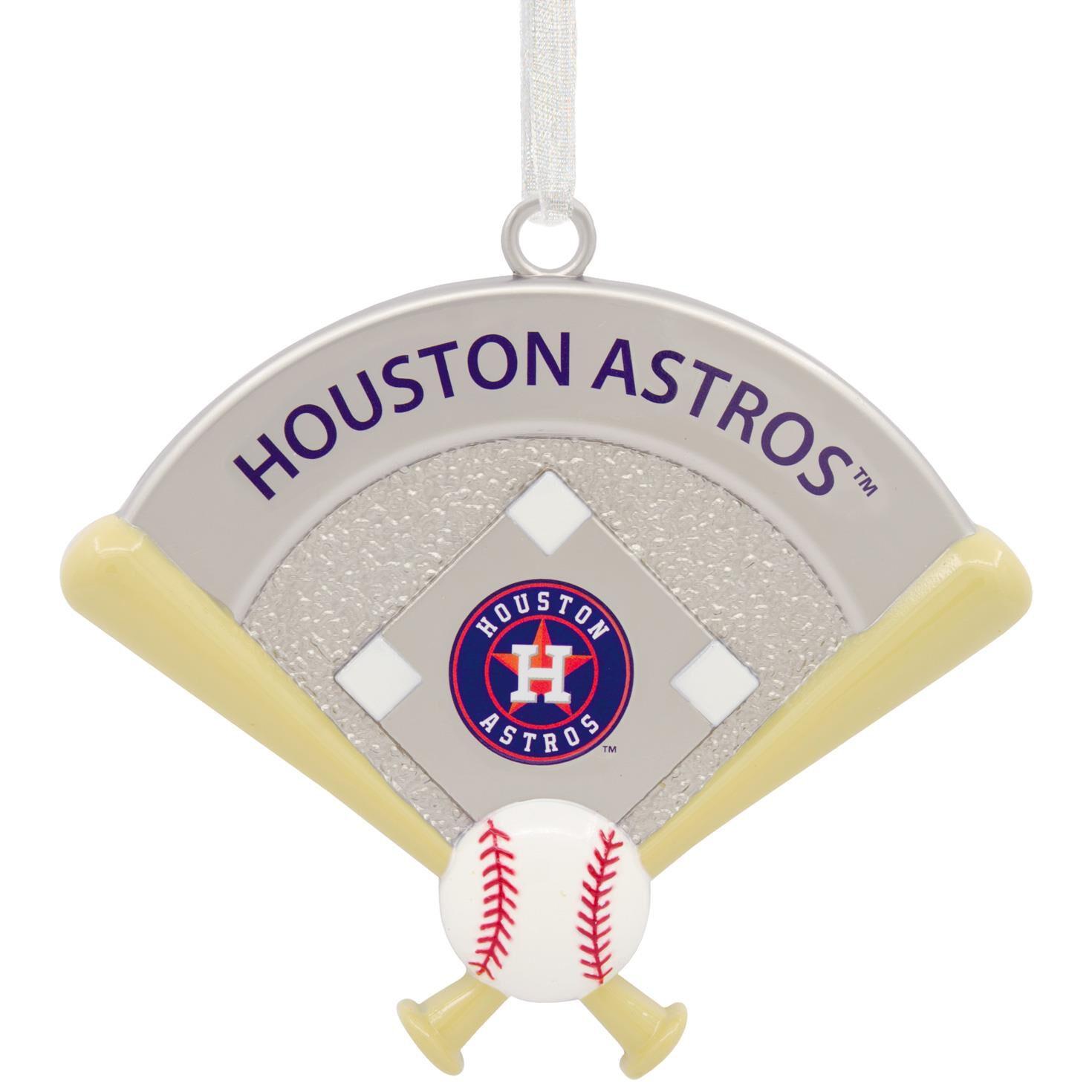 mlb houston astros metal hallmark ornament gift ornaments hallmark