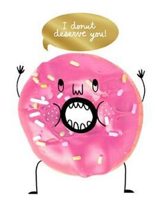 Donut Hole Love Valentine's Day Card,