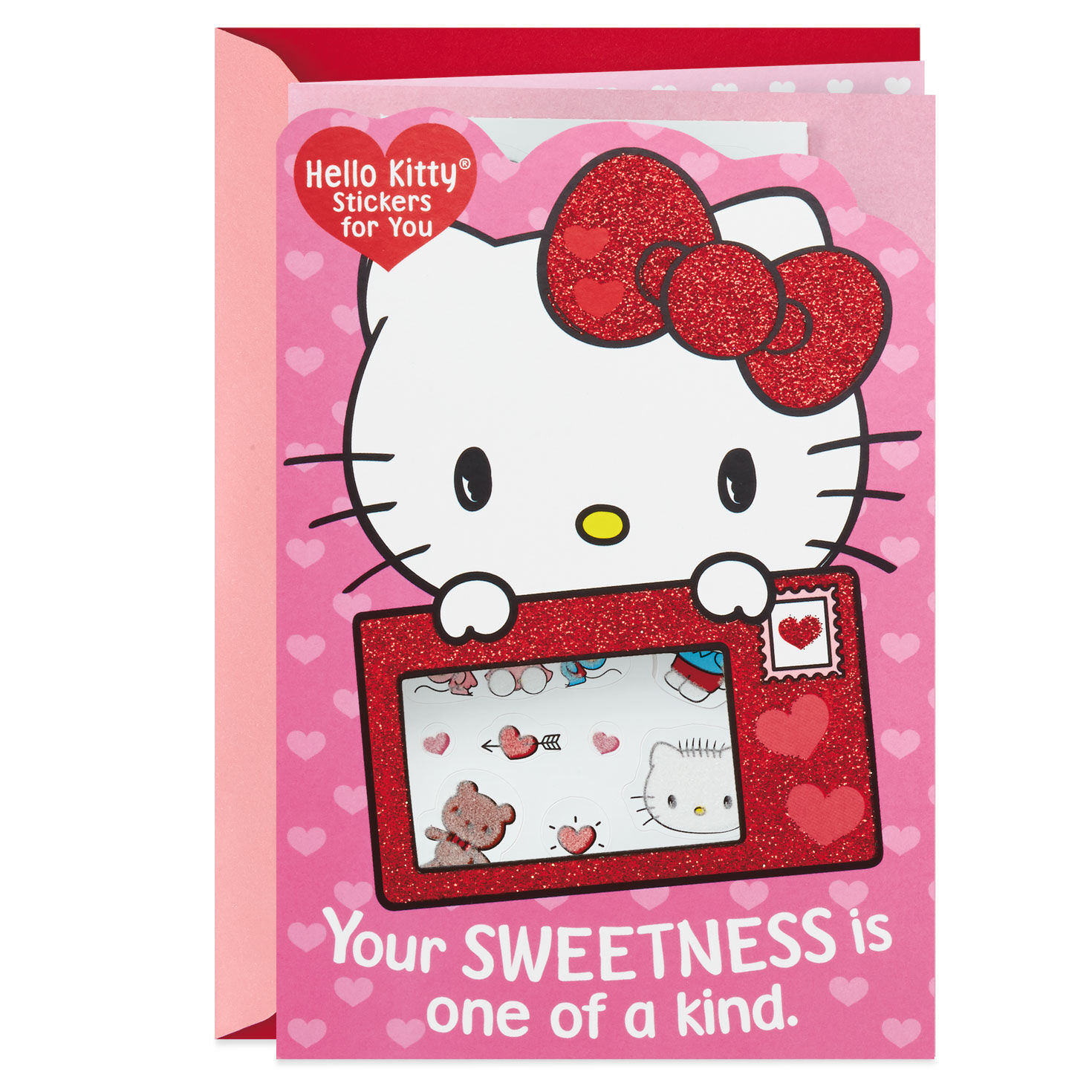 Hello Kitty® Valentineu0027s Day Card With Stickers   Greeting Cards   Hallmark