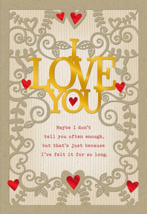 Loving You Over the Years Husband Valentine's Day Card