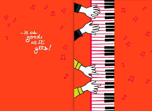 Heart and Soul Musical Valentines Day Card Greeting Cards – Musical Valentines Day Cards