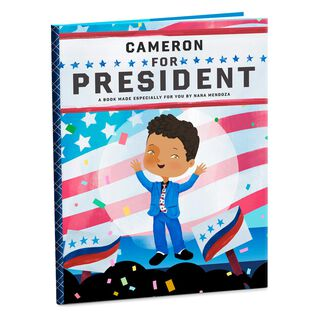 President Personalized Book,