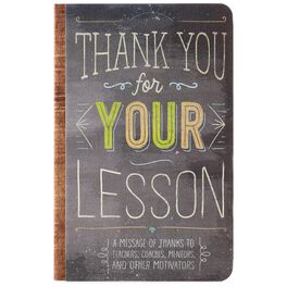 Thank You for Your Lesson Book, , large