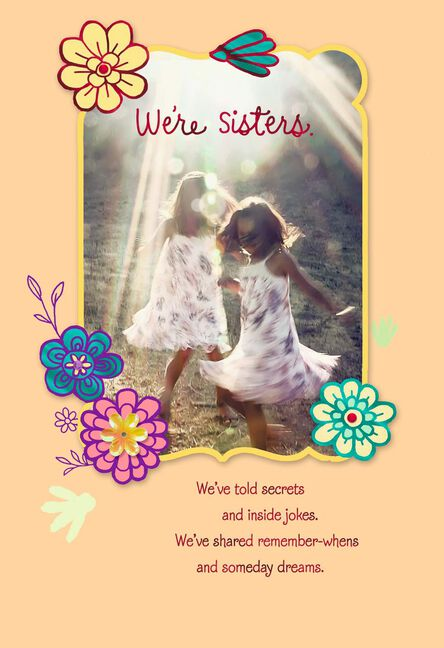 We Ve Shared So Much Birthday Card For Sister Greeting Cards