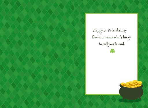 Between Good Friends St. Patrick's Day Card,