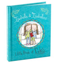 Isabelle & Isabella's Little Book of Rules Gift Book, , large