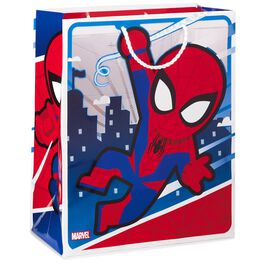 "Marvel Spider-Man Swinging Through City Large Gift Bag, 13"", , large"