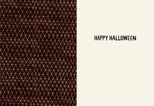 Boo Skull Halloween Card,