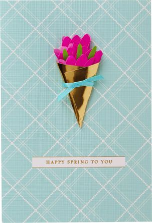 Floral Bouquet Easter Card