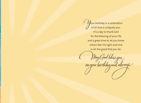 AfricanAmerican Choir Blessing Birthday Card Greeting Cards – Spiritual Birthday Cards