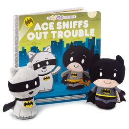 itty bittys® BATMAN™ Ace Sniffs Out Trouble Stuffed Animals and Book Set, , large