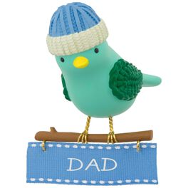 Winter Bird Dad Ornament, , large