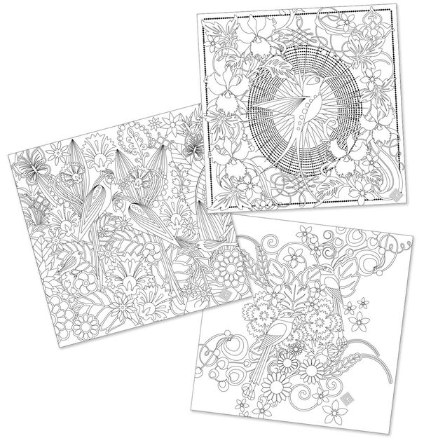 a colorful worlda coloring book featuring the art of catalina estrada - Artist Coloring Books