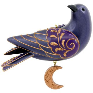 Ravishing Raven Halloween Ornament,