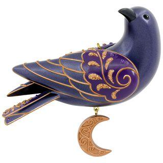 Ravishing Raven Halloween Ornament,