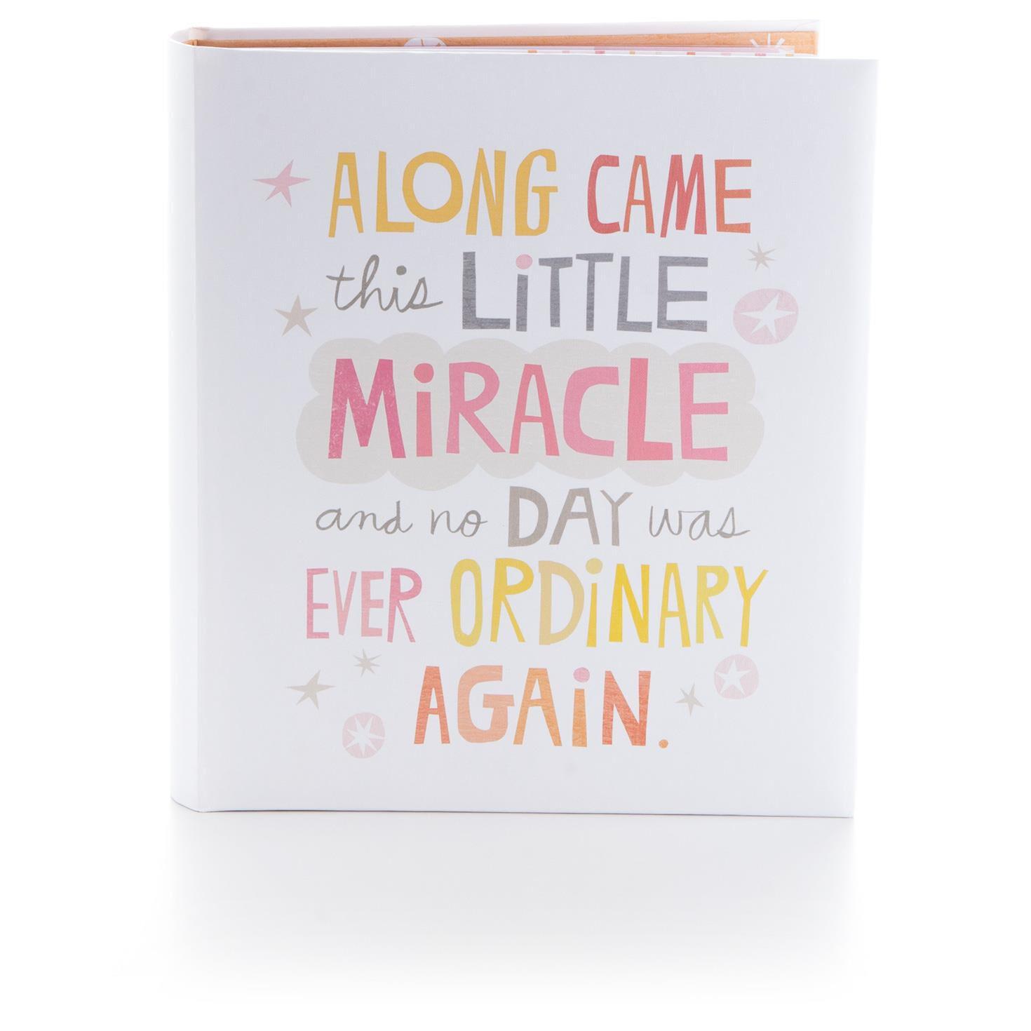 Little Miracle Baby Girl Memory Book - Scrapbooks - Hallmark