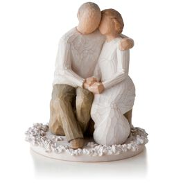 Willow Tree® Anniversary Figurine & Wedding Cake Topper, , large