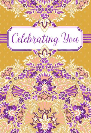 Celebrating You Mother's Day Card