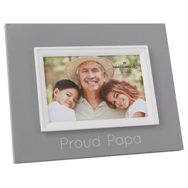 Proud Papa Wood Photo Frame, 4x6, , large