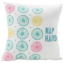 """Nap Hard Decorative Pillow, 16"""", , large"""
