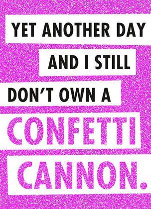 Confetti Cannon Blues