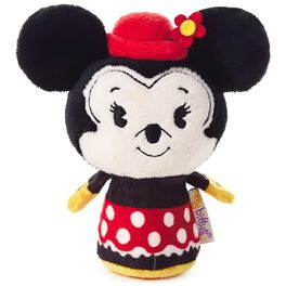 itty bittys® Minnie Stuffed Animal, 2nd in Minnie Mouse Series, , large