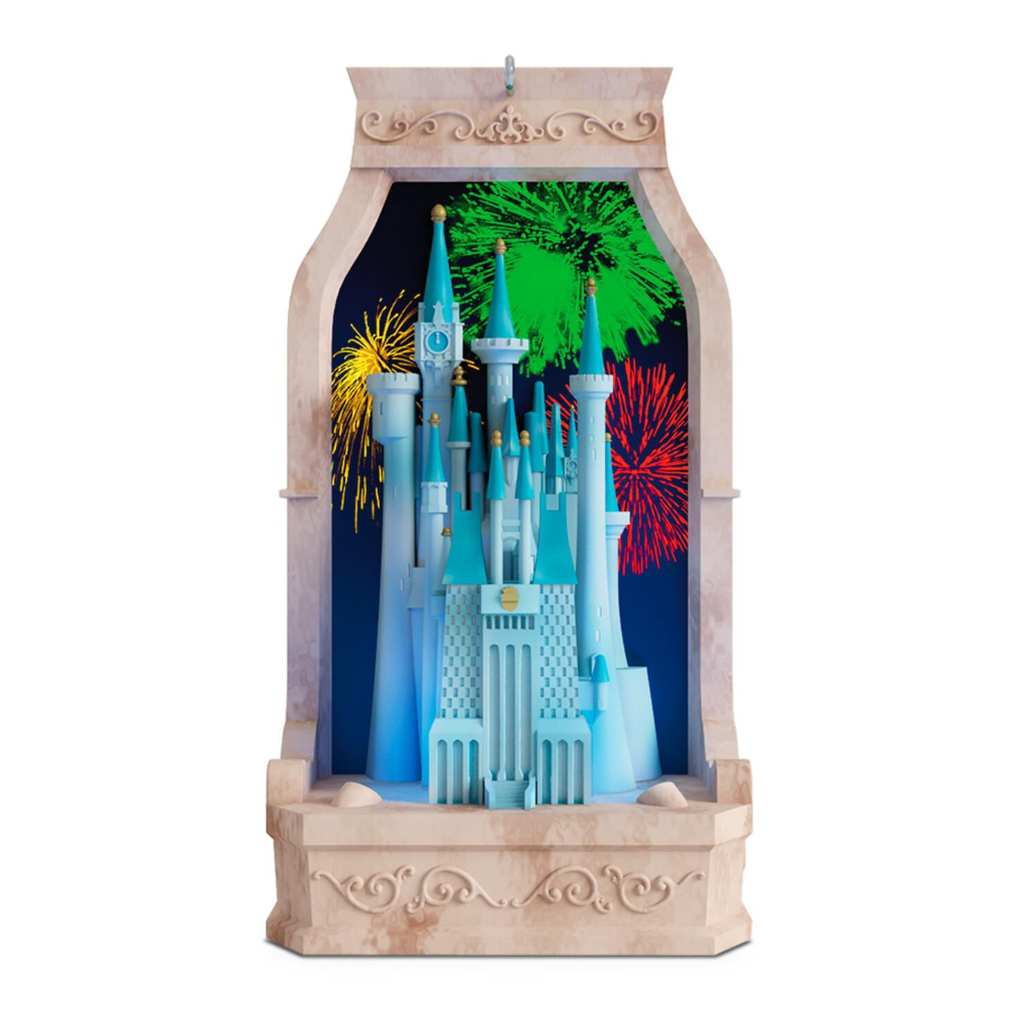 Cinderella S Castle From Disney Musical Ornament With Light Keepsake Ornaments Hallmark