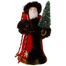 Gifts of Faith, Family and Friends Father Christmas Ornament, , large