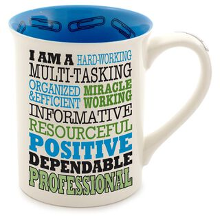 Our Name is Mud Professional Typography Coffee Mug,