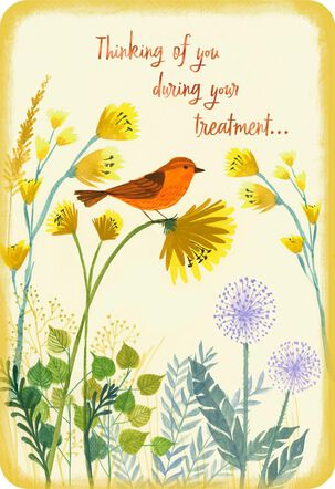 Thinking of You During Your Treatment Encouragement Card