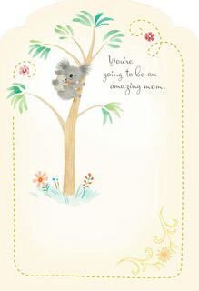 You'll Be Amazing Mother's Day Card for Mom-to-be,