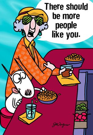 Maxine™ More People Like You Funny Friendship Card