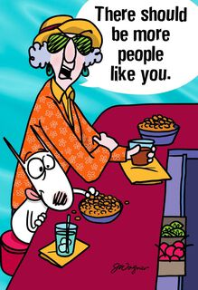 Maxine™ More People Like You Funny Friendship Card,