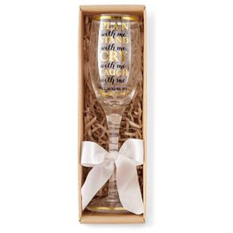 Mud Pie® Plan With Me Champagne Glass, 7 oz., , large