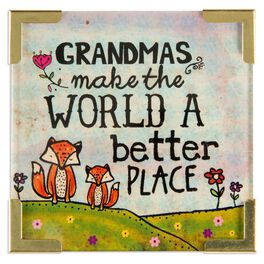 Natural Life Corner Magnet Grandmas Make the World Better, , large