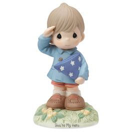 Precious Moments® You're My Hero Boy Figurine, , large