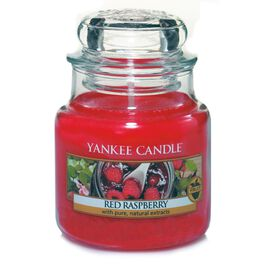 Red Raspberry Small Jar Candle by Yankee Candle®, , large