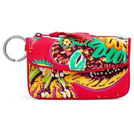 Vera Bradley Jen Zip ID Case in Rumba, , large