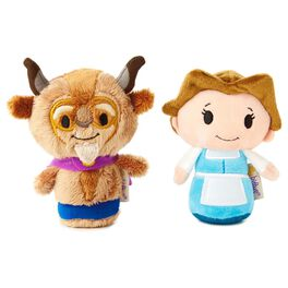itty bittys® Beauty and the Beast 25th Anniversary Set With Belle and Beast Stuffed Animals, , large