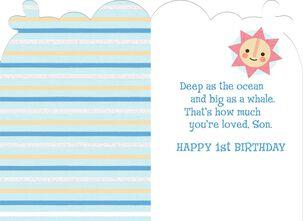 Son's First Birthday Card