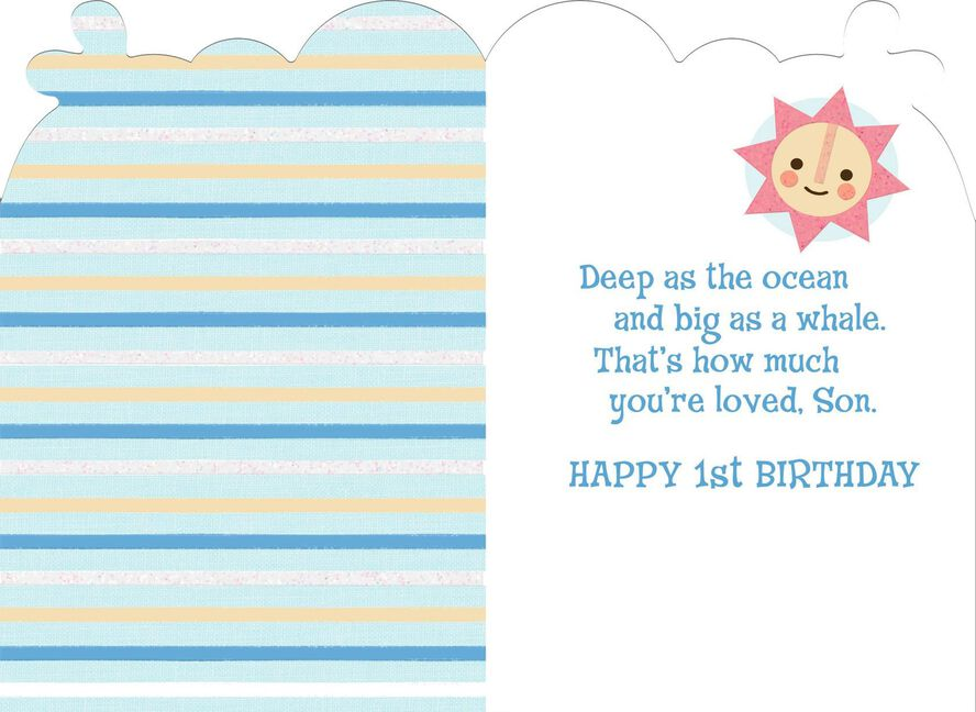 Sons First Birthday Card Greeting Cards Hallmark